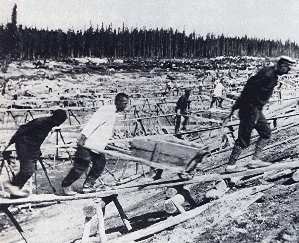 Čechoslováci v gulagu. Zdroj Wikimedia Commons, CC0